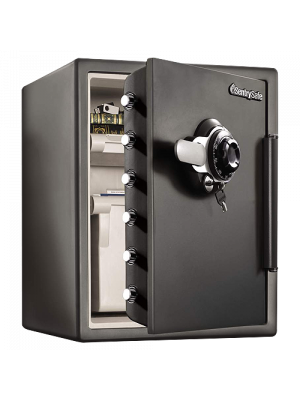 SentrySafe Fire Proof & Water Resistant Safe SFW205DPB