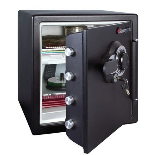 SentrySafe Fire Proof & Water Resistant Safe SFW123DTB